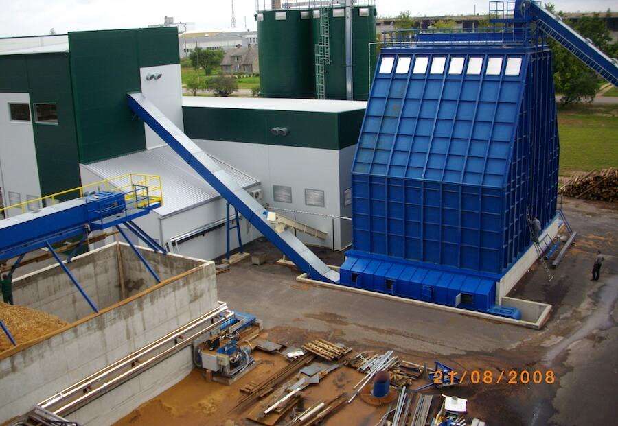 Biomassi ladustus- ja etteanne