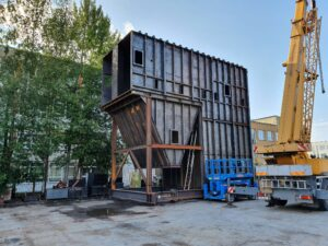 Biomasi katla järelpõlemiskamber